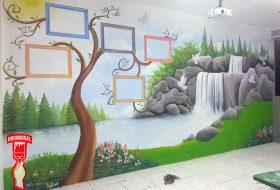 Mural Pemandangan