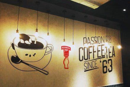 Mural cafe coffee Beans Cilandak Town Square Jakarta Selatan – indoMural