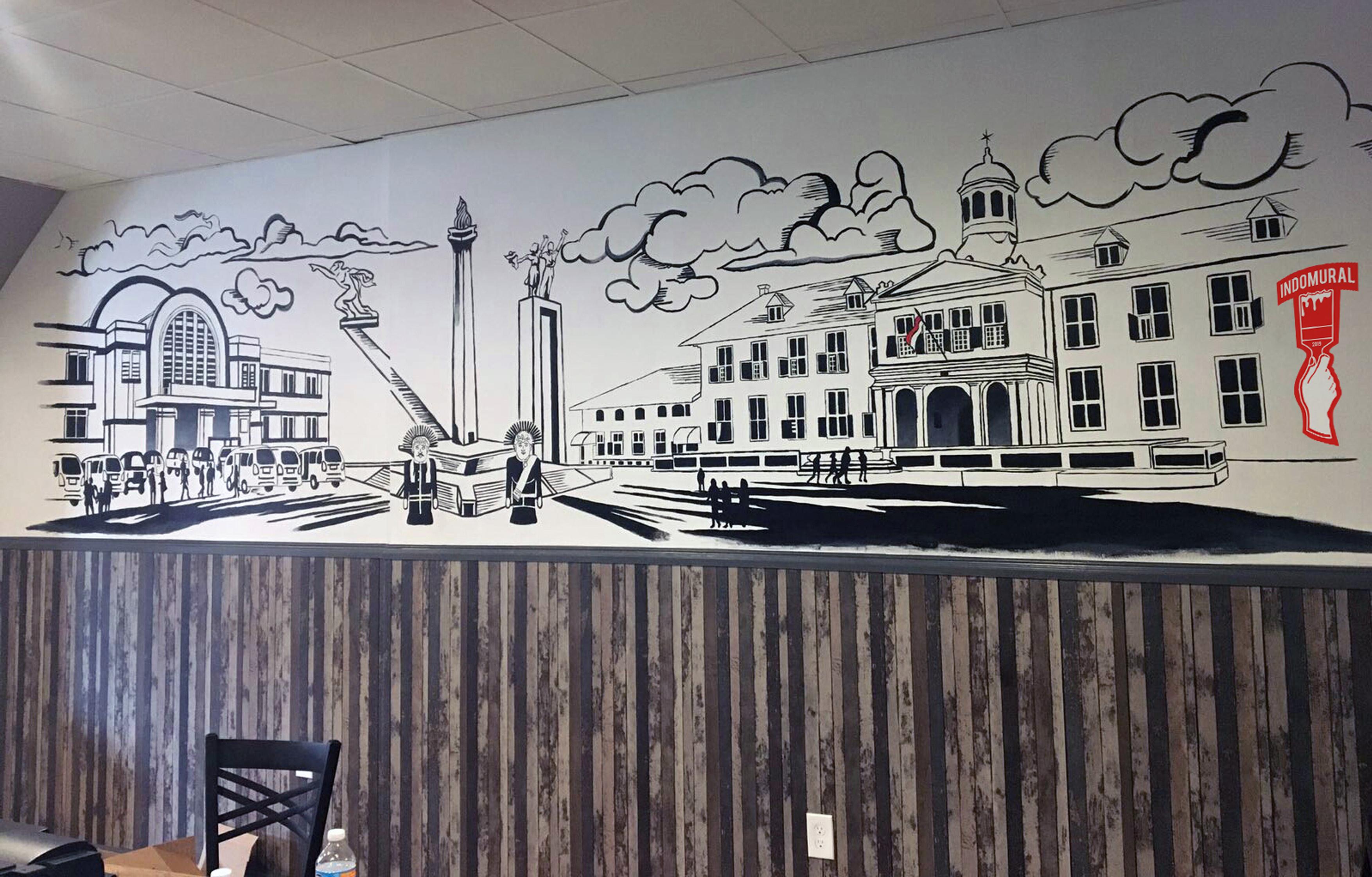 Indomural Jasa Lukis Dinding Indonesia Mural Profesional Lukis Mural Mural Cafe Mural Graffiti Mural 3d Trick Art Mural Wallpaper Mural Schol Mural Quotes