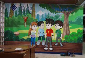 Mural Kartun