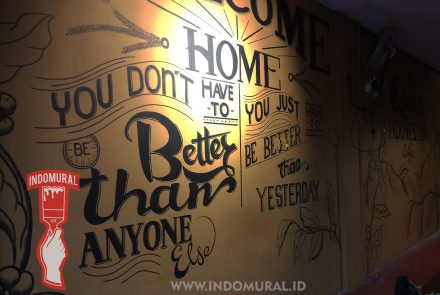 Lukis Dinding Cafe – Quotes – indoMural