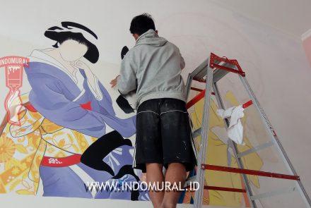 Lukis Dinding BSD Serpong Tangerang Selatan
