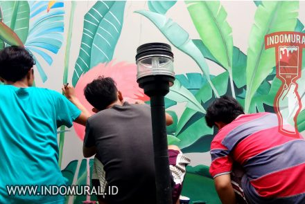 Lukis Dinding Tropical – indoMural