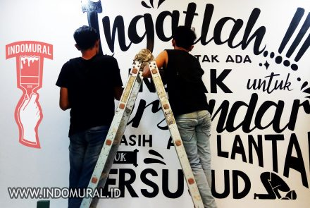 Lukis Dinding Quotes – Lettering   indoMural