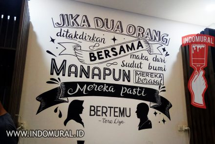 Lukis Dinding Quotes – Lettering | indoMural