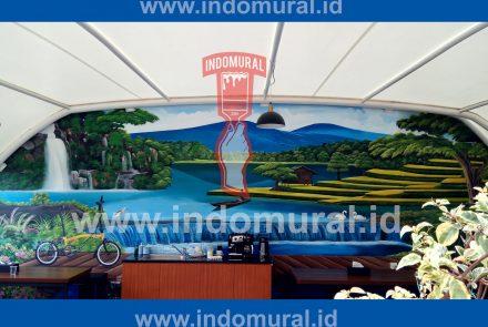 Mural Pemandangan Alam – BRINS Jakarta