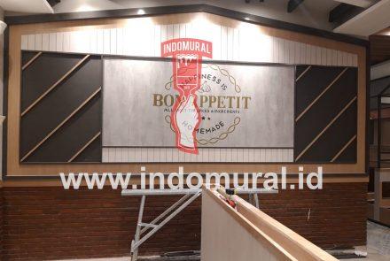 Lukis Dinding Logo – Cocok Untuk Cafe Restoran Dll – indoMural